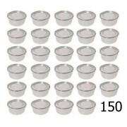 Jogo 150 Marmitas 300 Ml Alumínio Com Trava