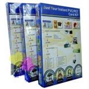 Jogo 26 Placas de PVC e 115 Folhas Imprimíveis jato de Tinta