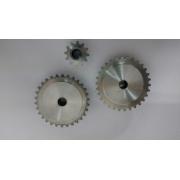 Jogo Engrenagens para Plastificadoras Nacionais Antimônio +  Engrenagem Extra Pequena