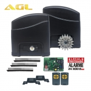Kit Motor Portão Deslizante Trino 700 AGL + 2 Controles 127V