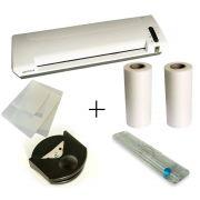 Kit Plastificadora A3 Com refiladora e Canteadeira e 2 Bobina e Carrier