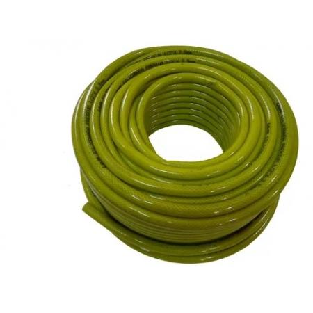 Mangueira Siliconada Premium Construção Civil Amarelo 1/2