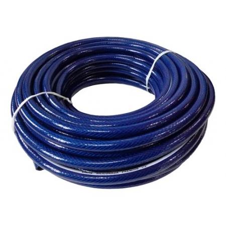 Mangueira Siliconada Premium Construção Civil Azul 1/2