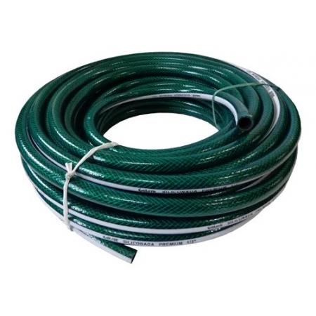 Mangueira Siliconada Premium Construção Civil Verde 1/2