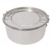 Marmita Redonda Com Trava Alumínio Polido Nº18 1600Ml