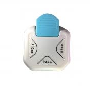 Mini Canteadeira Scrapbook 3 em 1 Raio 4 mm , 7mm e 10 mm