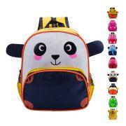 Mochila Infantil Unisex com Alça Animais Bichinho Panda