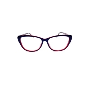 Óculos Lupa Para Leitura 1 Grau Azul com Vinho