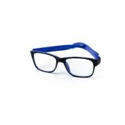 Óculos Lupa Para Leitura 2,5 Graus Preto e Azul
