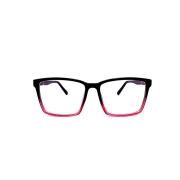 Óculos Lupa Para Leitura 2,5 Graus Preto e Rosa