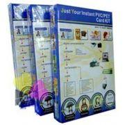 Placa De Pvc Imprimível Para Crachá, Cartão, Cardápio 200 Unidades