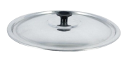 Tampa Avulsa de Aluminio Leve Polido 18 CM