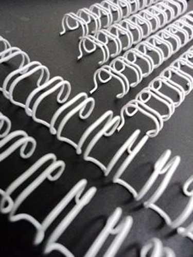 Espiral Garra Duplo Anel Wire-o 2x1 A4 7/8 180 Fls Para Encadernação