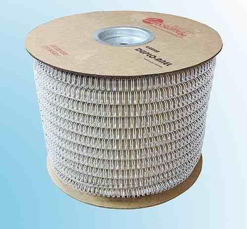 Bobina Espiral Garra Duplo Anel Wire-o 2x1 Diam 1''1/8 250fls