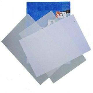 50 Placas + 50 Folhas Impimiveis Pvc Crachá Cartão Cardápio