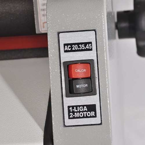 Plastificadora Termolaminadora Bobina Bopp 2 Temperatura GazelaAC 20.35.45