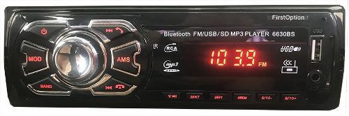 5 Peças Auto Radio Automotivo Bluetooth Mp3 Usb Som Carro