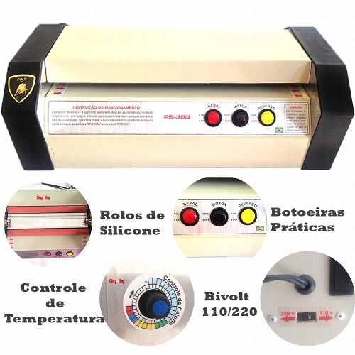 Plastificadora Profissional Ps-380 Para Documentos Até A3