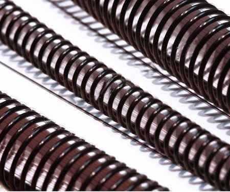 Espirais Para Encadernação de Espiral Preto De 09 mm 50 Folhas