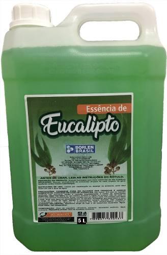 Essência Eucalipto Concentrado Para Sauna Galão De 5,0 Litro