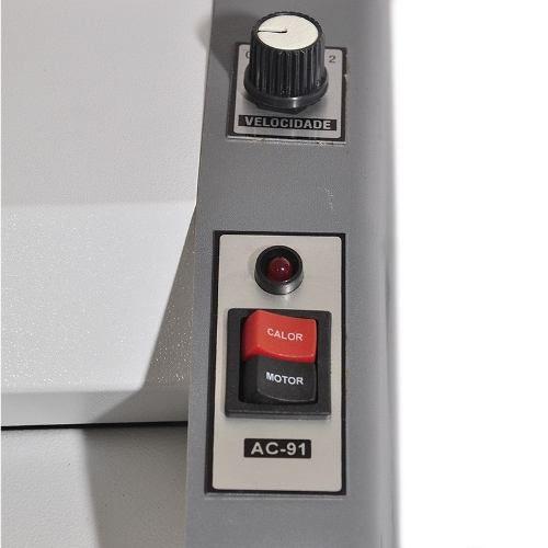 Plastificadora Gazela Premium 02 Velocidade AC 91.23.45