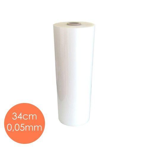 Bobina Polaseal Plástico Plastificação (34cmx60m) - 0,05mm