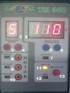 Plastificadora Termolaminadora Temperatura Ajustável Bopp Pvc Hotstamping A3 6x1 TM-360