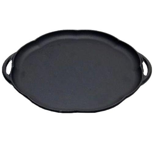 Chapa Petisco Ferro Sem Suporte 24Cm Panela Mineira