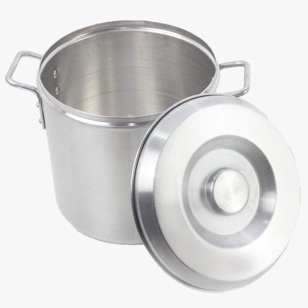 Caldeirão Aluminio Grosso Cerveja Hotel Bares Industrial 15,3 Litros N 28