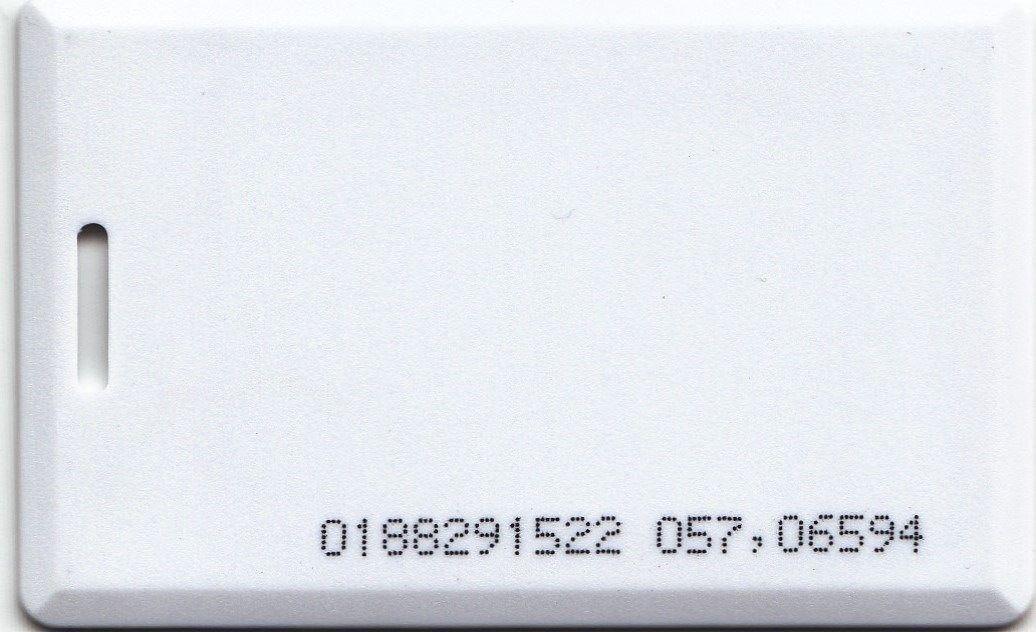Cartão De Proximidade Clamshell Rfid 125khz P/relógio Ponto
