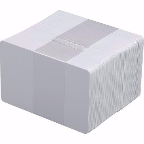 Cartão De Pvc Branco P/ Crachá 54 X 86mm 0,76mm 8000 Unidade
