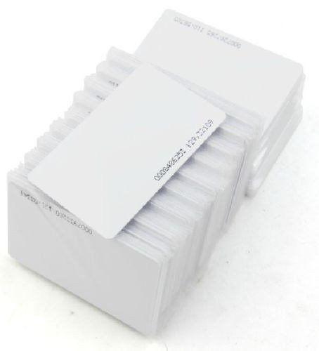 Cartão Rfid 125khz (2500 Cartoes) Pvc/token De Aproximação