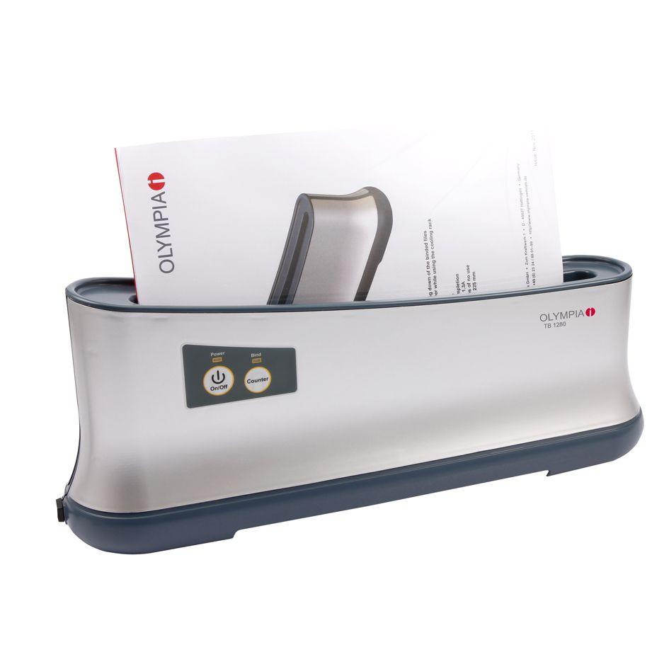 Encadernadora Térmica Até 200 Folhas A4 + 40 Capas Térmicas 110v