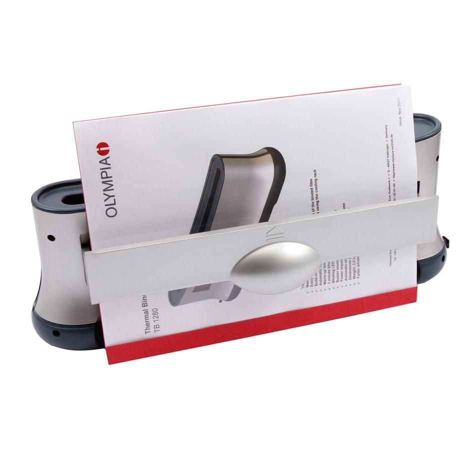 Encadernadora Térmica Até 200 Folhas A4 + 50 Capas Térmicas