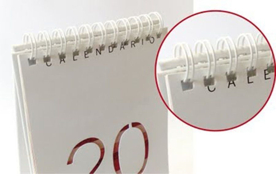 Espiral Wire-o Garra Duplo Anel 2x1 Oficio 1''1/4 270 Folhas
