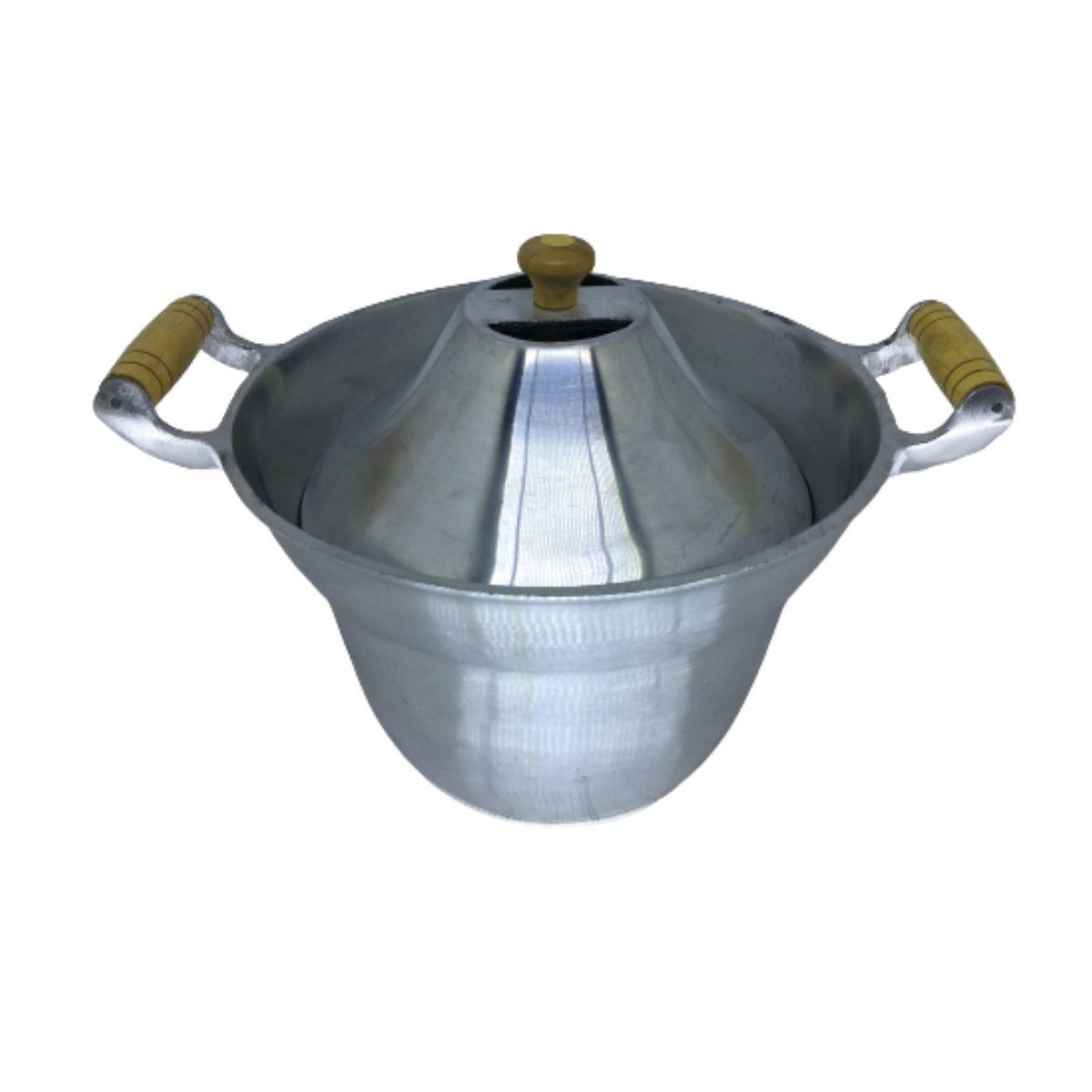 Fervedor Leiteira Inderramavel Alumínio Polido 5 Litros