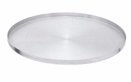 Forma Assadeira De Pizza Redonda Aluminio 29 Cm
