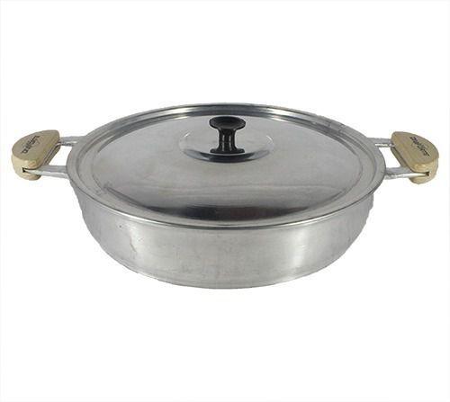 Frigideira Alumínio Fundido Batido 36 Cm Polido