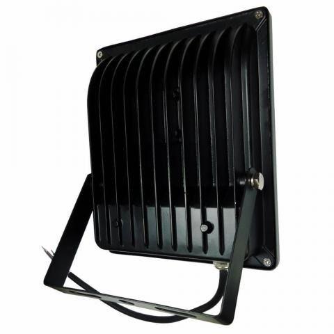 Kit 2 Refletor Holofote Led Smd 50w Bivolt A Prova Dágua