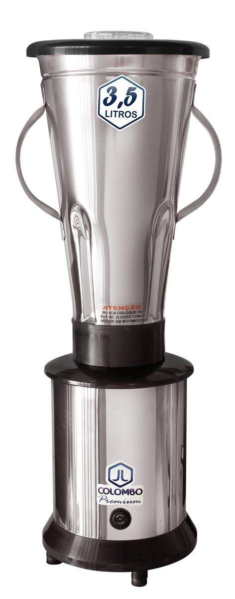 liquidificador industrial 3,5 litros alta rotação - jl colombo