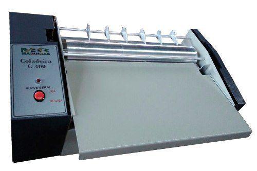 Coladeira de Arquivos Sob Pressão C-400PRO MR Máquinas
