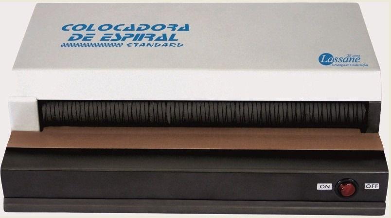 Máquina Colocadora De Espiral Elétrica Standart (até 23mm)
