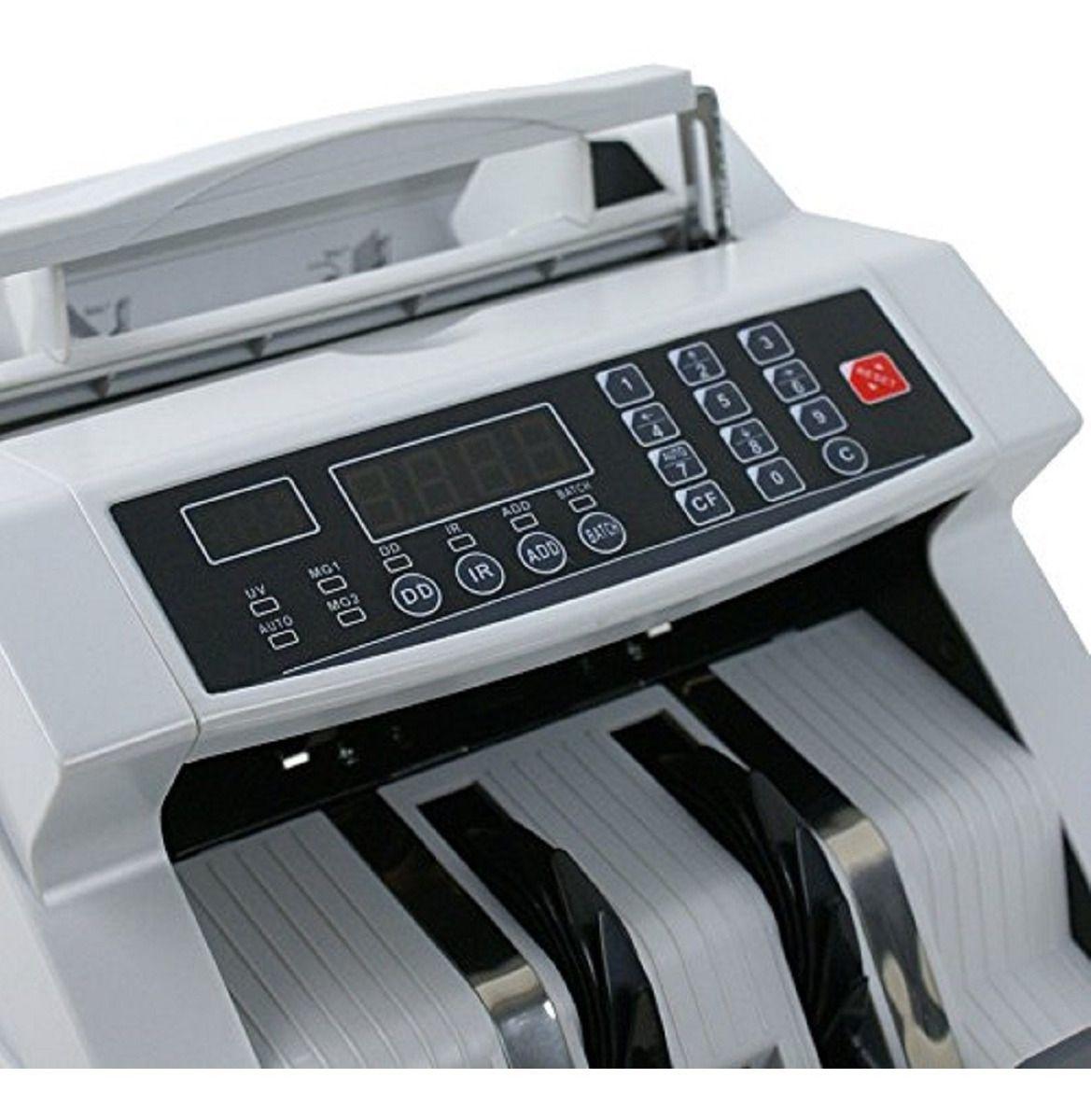Maquina De Contar Dinheiro Cedulas Detecta Nota Falsa