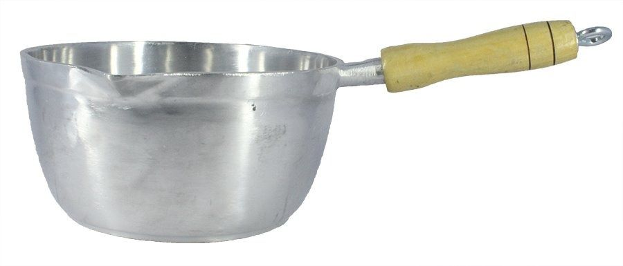 Panela Caçarola Japi Alumínio Polido 14cm 0,9L
