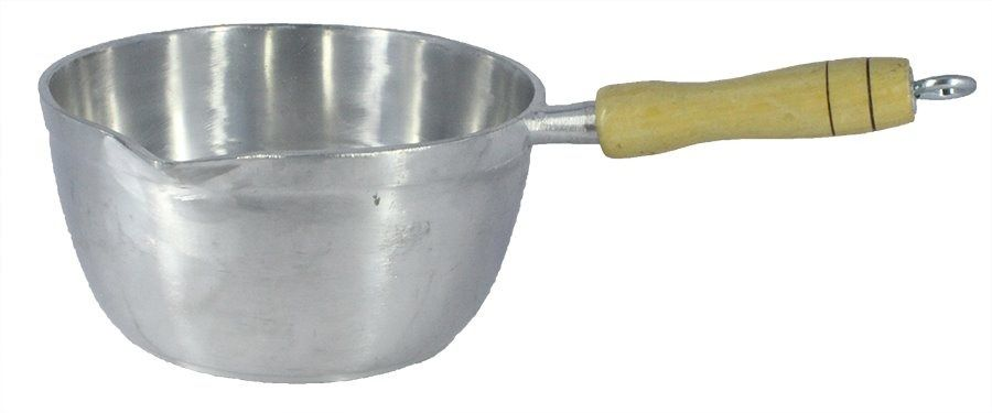 Panela Caçarola Japi Alumínio Polido 16cm 1,3L