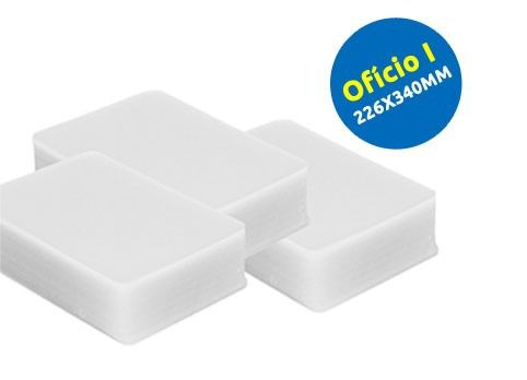 Plastico Plastificação 800 Polaseal Tít,habitação,cgc,cnpj,meio Of, A4,of E A3
