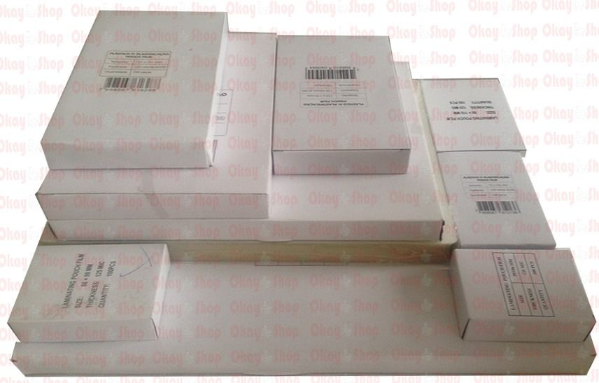 Plastico Plastificação Polaseal 01 Cento Cpf + Rg + 01 Ofício + A4 0,05mm (125 Mcs)