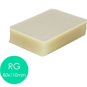 Plastico Plastificação Polaseal 01 Cento Tamanho Rg, Meio Oficio, A4 E A3 0,05mm