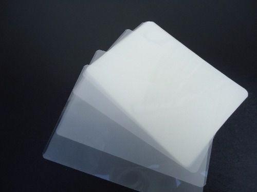 Plastico Plastificação Polaseal 02 Cento De Cada Do Tamanho Crachá, A4 E A3