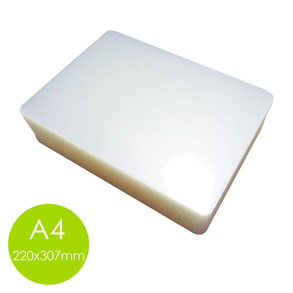 Plastico Plastificação Polaseal 1 Rg 1 A4 2 Ofício 1 A3 (125 Microns) 0,05mm